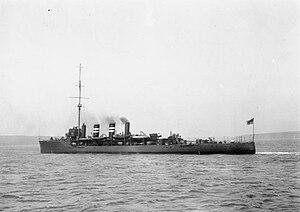 HMS Amphion (1911) - Image: HMS Amphion (1911)