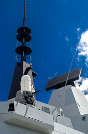 HMS Daring S1850M Long Range Radar