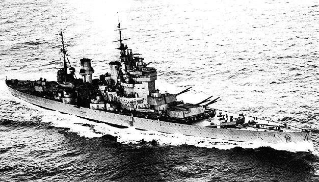 HMS King George V in 1941