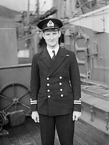 HM Submarine Venturer, Latest Submarine To Be Commissioned. 20 August 1943, Holy Loch. A18834.jpg