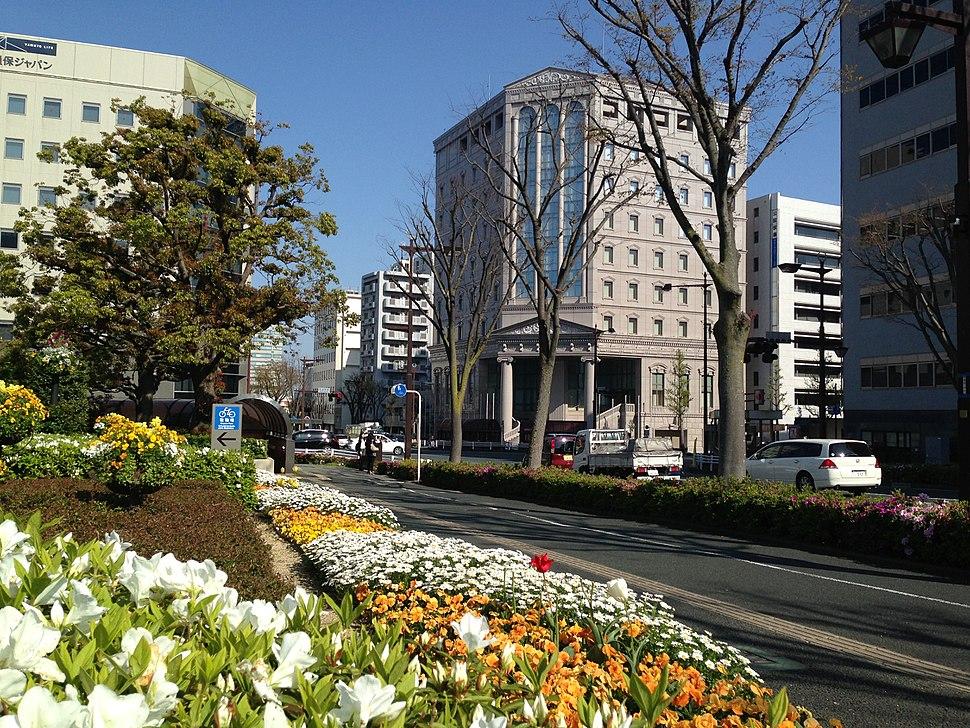 Hamamatsu near city hall
