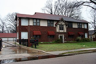 National Register of Historic Places listings in Crittenden County, Arkansas - Image: Hamilton Apts West Memphis