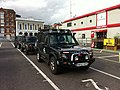 Hampshire 4x4 response at Southampton Red Funnel ferry terminal during Isle of Wight Festival 2012 3.jpg