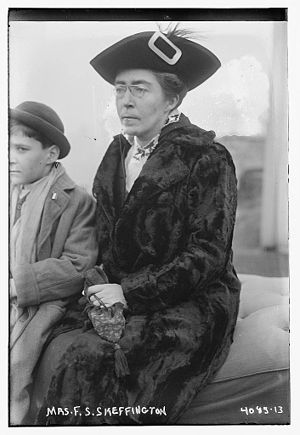 Francis Sheehy-Skeffington - Hanna Sheehy Skeffington, wife of Francis, in 1916