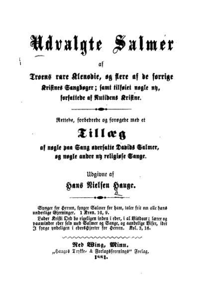 File:Hans Nielsen Hauge - Utvalgte Salmer.djvu