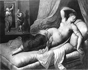 Schlafende Lucretia (?)
