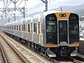 Hanshin 1000 series 1201 on test-ride.jpg