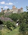 Hardegg - castle Hardegg, south view pic03.jpg