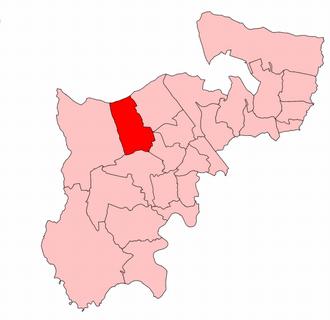 Harrow West (UK Parliament constituency) - Harrow West in Middlesex 1945–50