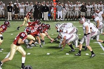 English: Harvard Crimsons v Brown Bears Harvar...