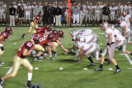 A night game between Harvard and Brown, September 25, 2009 Harvard crimsons v brown 2009.JPG