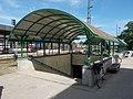 Hatvan railway station, underpass, 2017 Hatvan.jpg