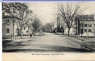 Hazardville, Connecticut Census-designated place in Connecticut, United States