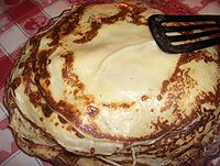 Heap of pancakes in Sweden.JPG