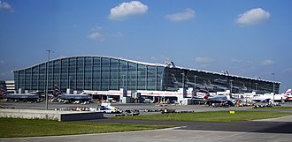 London Borough of Hillingdon - London Heathrow Airport is the busiest airport in Europe in terms of passenger numbers and the second busiest in the world in terms of international passenger numbers.