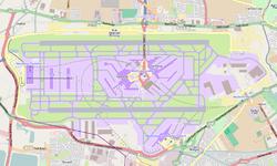 מפת נמל התעופה