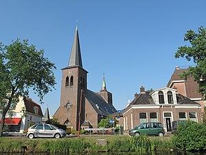 Heerenveen - Image: Heerenveen, kerk in straatzicht foto 1 2011 05 21 18.18