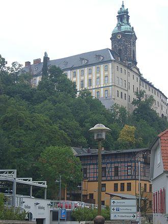 Schwarzburg-Rudolstadt - Heidecksburg residence at Rudolstadt