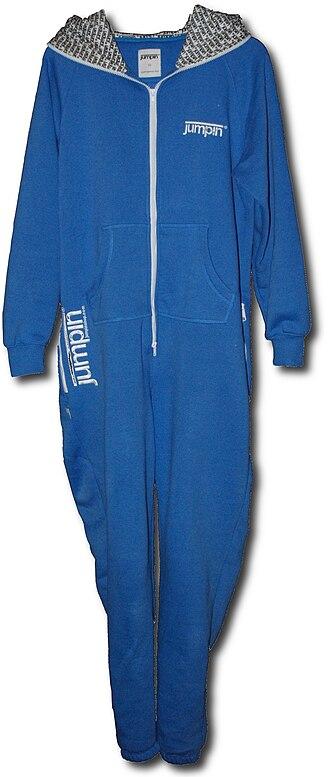 Onesie (jumpsuit) - A modern adult size onesie.