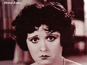 Betty Boop - Betty Boop was originally a caricature of Helen Kane.