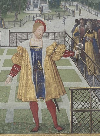 Henry II of Navarre - Henry in contemporary miniature