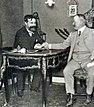 Henri Desgrange et Charles-Henri Brasier à 'L'Auto' (1905, après la Coupe Bennett).jpg