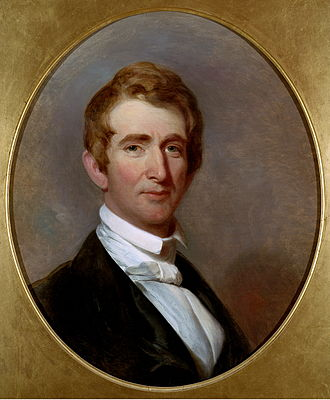 William H. Seward - Seward around 1844. Painting by Henry Inman.