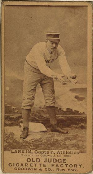 Henry Larkin - Image: Henry Larkin baseball card