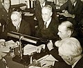 Henry Stimson describes value of lend-lease program before House Foreign Affairs Committee, 1943 (34716908756).jpg