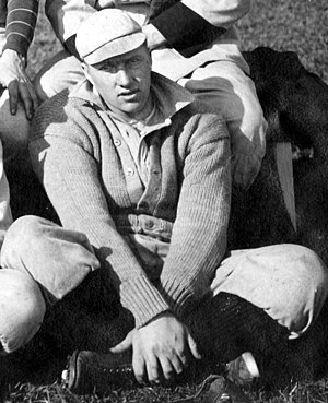 Bert Sincock - Sincock cropped from 1908 Michigan baseball team portrait