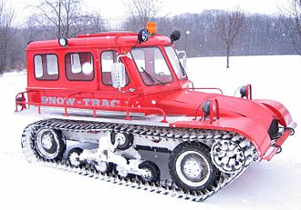 Snow Trac - VW powered Snow Trac, 54hp, 4 manual speed transmission
