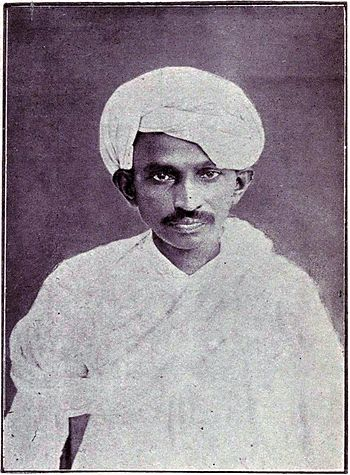 """a study of the life of mohandas gandhi Gandhi in london: the law student and the """"inner temple"""" vinay lal  gandhi left india for the first time on 4 september 1888, when he was about a month shy of his nineteenth birthday, and arrived in london in late october."""