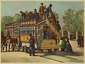 Frederiksberg Runddel - Changing horses at Frederiksberg Runddel, 1863