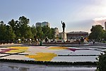 Flower Festival for the celebration of the birthday of Heydar Aliyev.