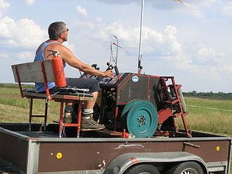 Operator (profession) - Image: Hg winch operator