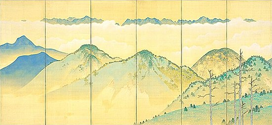 High Mountains Clear Autumn 2 by Terasaki Kogyo (Akita Museum of Modern Art).jpg