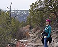 Hiking Out of Frijoles Canyon (5317929686).jpg