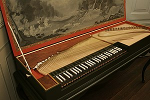 Keyboard expression - A modern reproduction of a Baroque-era clavichord