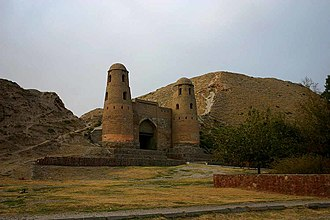 Battle of Ab Darrah Pass - Old castle in Hisor