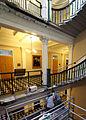 Historic Restoration of the Treasury Stairwells - Vertical Stairwell Scaffolding.jpg