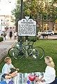 Historical marker A 33 Court Square Harrisonburg VA July 2008.jpg