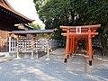 Hiyoshi-jinja Ema and Sanno Inari-jinja Torii.jpg