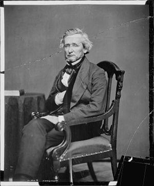 John Burton Thompson - John B. Thompson, photograph by Mathew Brady