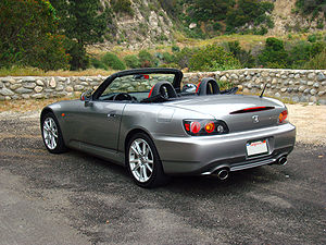 2005 Honda S2000. Camera used was a Sony Erics...
