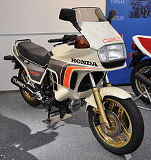 Honda CX500 Turbo In The Collection Hall