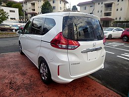 Honda FREED HYBRID G・Honda SENSING (DAA-GB7) rear.jpg