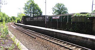 Honley railway station Railway station in West Yorkshire, England