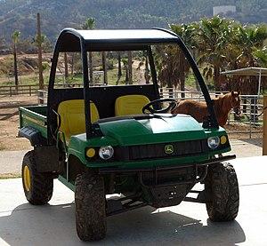 John Deere Gator - Gator HPX in use at a ranch