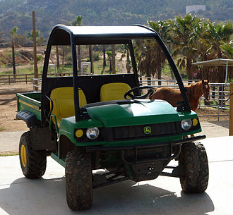 John Deere Gator - Gator HPX in use at a ranch