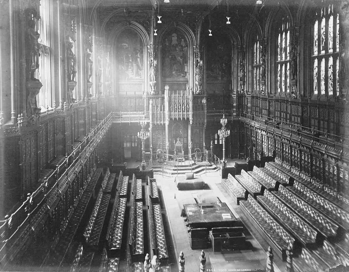 специфика статуса депутатов палаты лордов